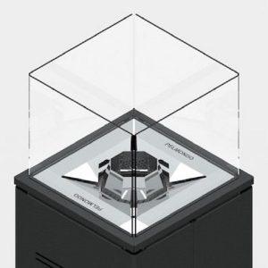 pelmondo cube barcube glasscheibe